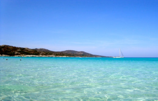 Charter Itinerary Vogue Charters, Scandola, Baie de Saleccia, St Florent, Corsica, Italy, Isola Gallerina