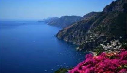 The Amalfi Coast Italy, Cliffs, Coastline