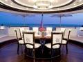 Alfa Nero - Aft Deck Dining