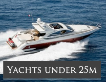 Yachts Under 25m - Mediterranean Yacht Charters